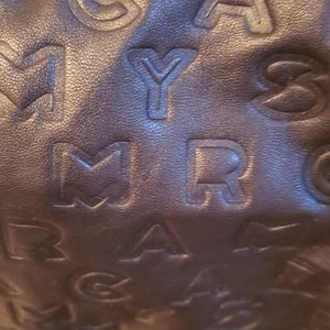 Marc By Marc Jacobs Bags - Marc by Marc Jacob's NWT black embossed logo bag
